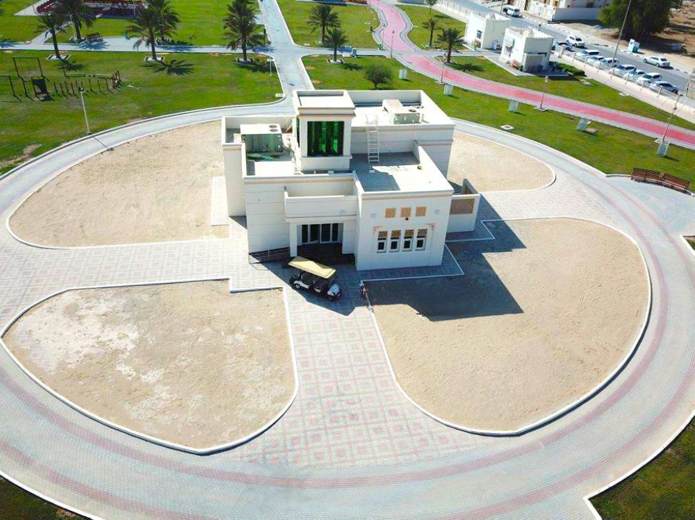 تضمّنت أعمال الحديقة إنشاء مبنى على مساحة 236 متراً مربعاً. (الرؤية)