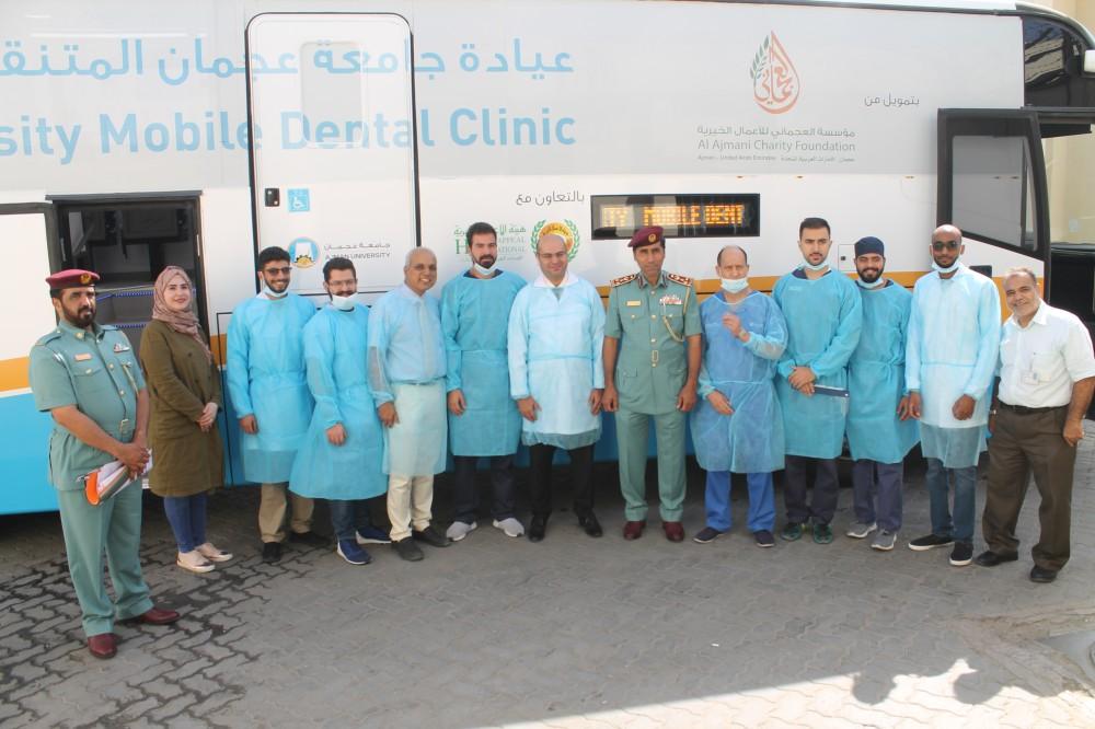 المبادرة شملت إجراء عمليات للنزلاء الذين تستدعي حالاتهم الصحية التدخل الجراحي. (الرؤية)