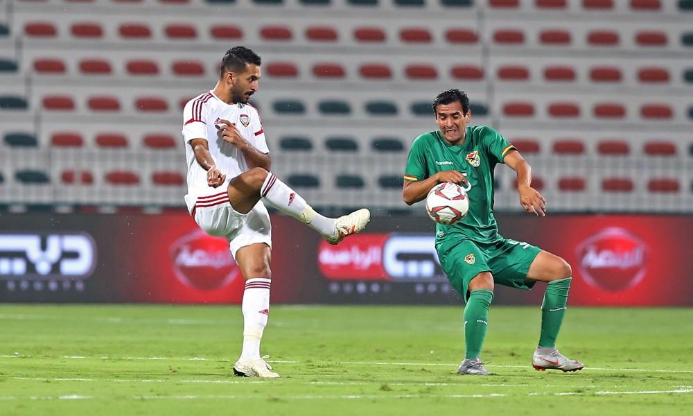 مباراة منتخب الامارات ومنتخب بوليفيا على استاد مكتوم بن راشد  دبي 16 11 2018