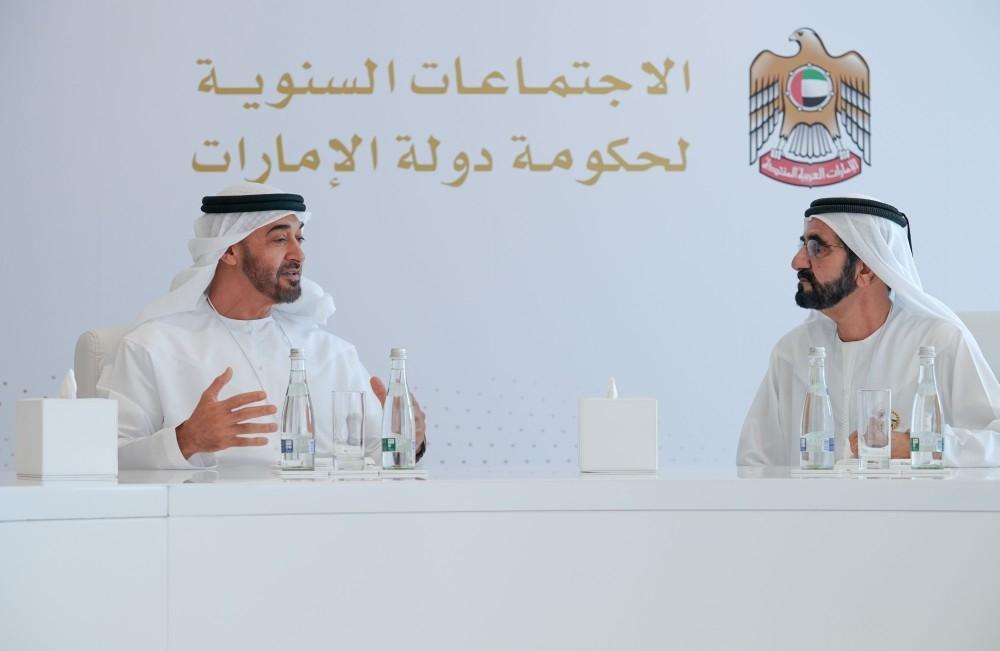 محمد بن راشد ومحمد بن زايد.. الاجتماعات السنوية لحكومة الإمارات تنطلق