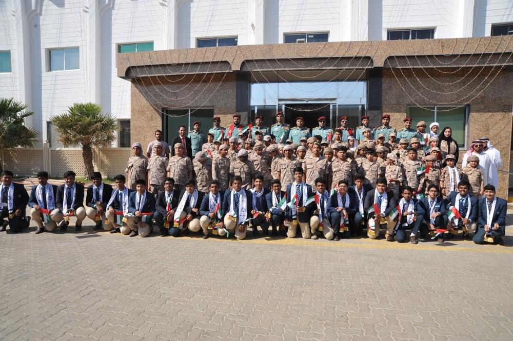 الطلبة وشرطة عجمان