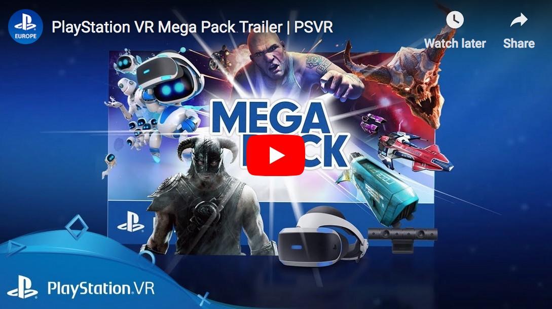 سوني: PS VR Mega Pack