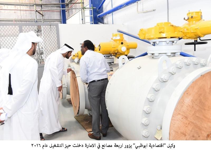 مصانع ابو ظبي