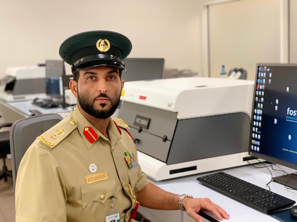 المقدم الدكتور علي خليفة الفلاسي - شرطة دبي