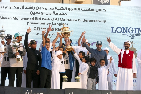 سباق كأس صاحب السمو الشيخ محمد بن راشد آل مكتوم للقدرة - قرية دبي العالمية للقدرة 2019