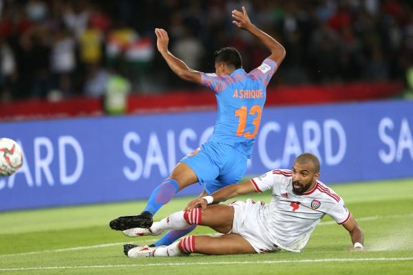 مباراة الامارات والهند في كأس اسيا في استاد مدينة زايد الرياضية 10 01 2019