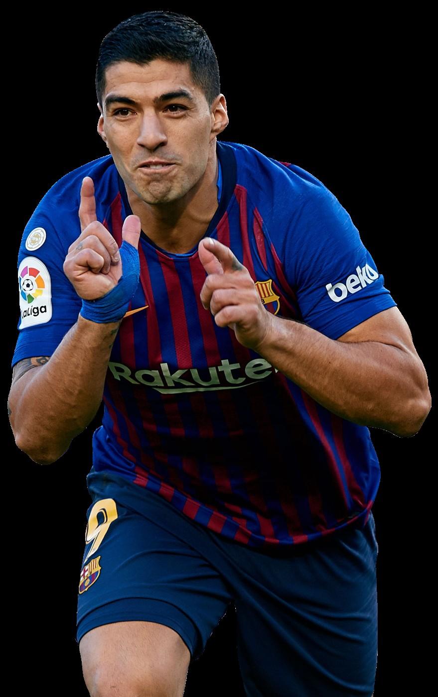 Luis Suarez - FootyRenders