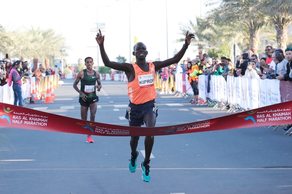 2019 RAK Half Marathon Ras Al Khaimah, UAE    February 8. 2019 Photo: Victah Sailer@PhotoRun Victah1111@aol.com 631-291-3409 www.photorun.NET #run.photo