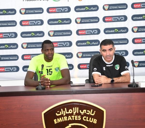 مدرب الإمارات جلال قادري.