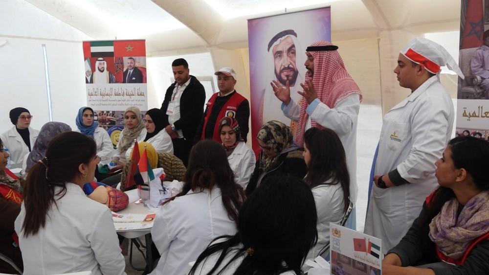ملتقى أطباء الإنسانية في المغرب يهدف إلى ترسيخ ثقافة العطاء الإنساني بين الكوادر الطبية الشبابية. (وام)