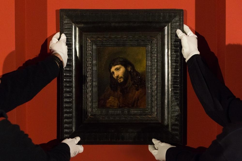 عرض اللوحة يستمر في متحف اللوفر أبوظبي حتى 18 مايو المقبل. (الرؤية)