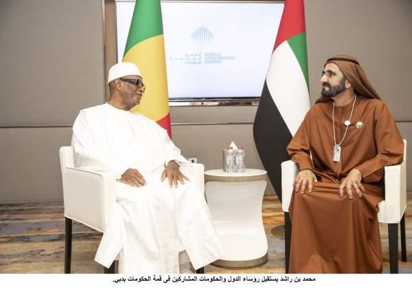 محمد بن راشد يستقبل رؤساء الدول والحكومات المشاركين فى قمة الحكومات بدبي. 9