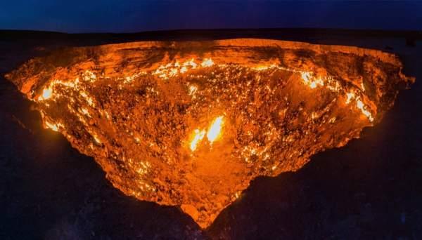 حفرة الجحيم – تركمانستان