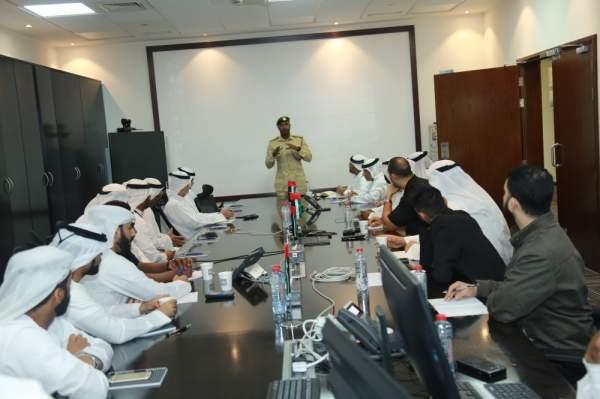 مرور دبي تنظم ورش عمل حول إعداد تقارير الحوادث.  (الرؤية)