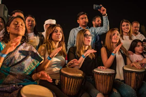 Festival in the Park_Drum Circle