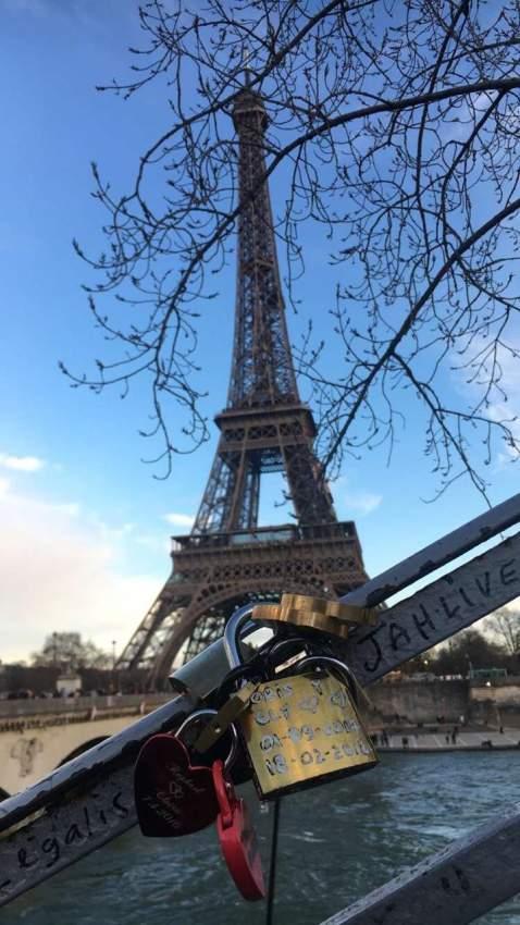 أقفال الحب في باريس