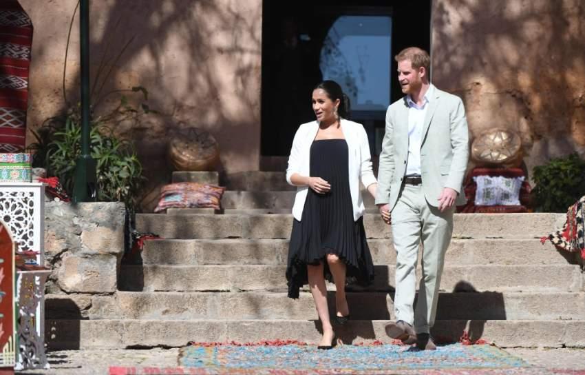 ميغان ماركل رفقة زوجها الأمير هاري