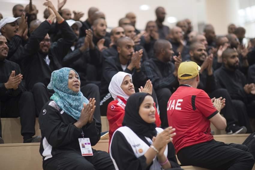 من أنشطة الأولمبياد الخاص 2018 في أبوظبي.(الرؤية)
