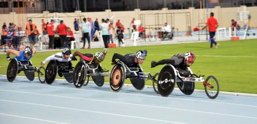 من منافسات الدرجات في بطولة فزاع لألعاب القوى.(الرؤية)