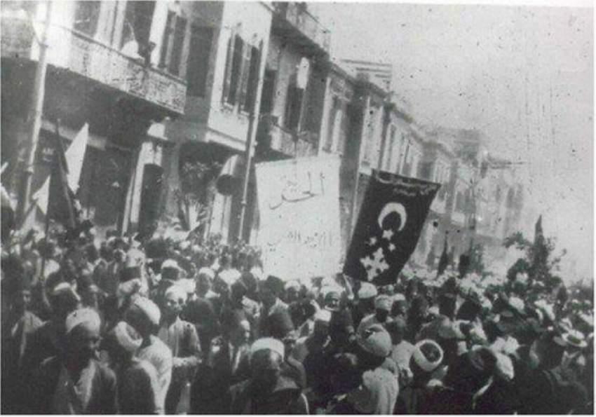 الخروج الكبير للمصريين من مختلف الطوائف ضد الاحتلال البريطاني عام 1919.