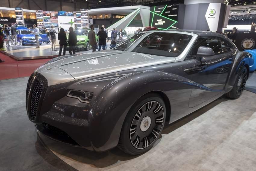 السيارة إيدون غرين زانتوري.
