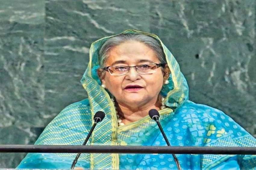 شيخة حسينة رئيسة بنغلاديش1