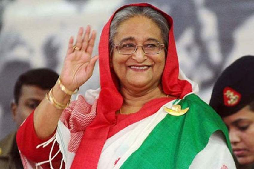 شيخة حسينة رئيسة بنغلاديش