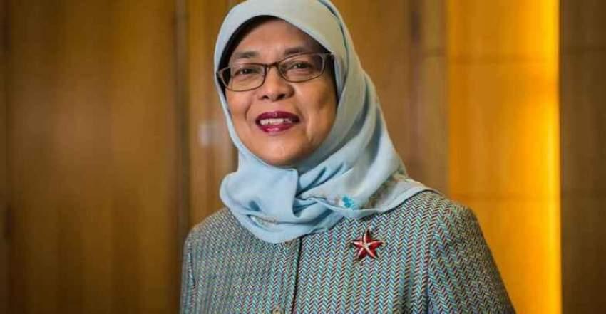 حليمة رئيسة سنغافورة