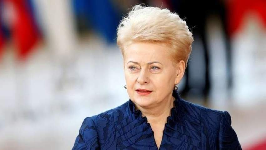 داليا غريباوسكايتي رئيسة ليتوانيا