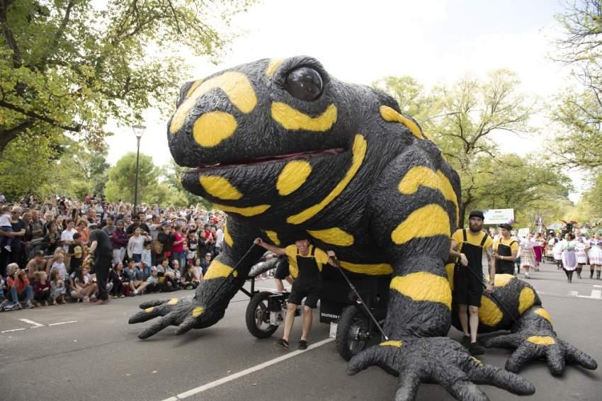 يحتفل سكان مدينة ميلبورن الأسترالية كل عام بمهرجان مومبا Momba