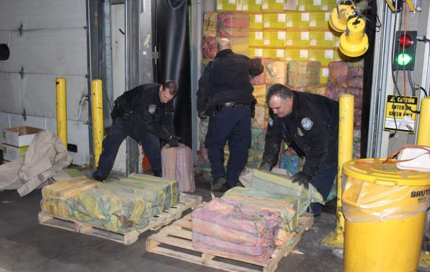 مرفأ نيويورك يحجز 1.5 طن من الكوكايين