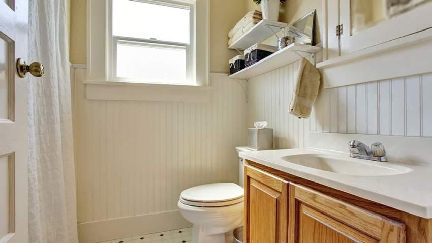 أفكار لترتيب الحمامات الصغيرة