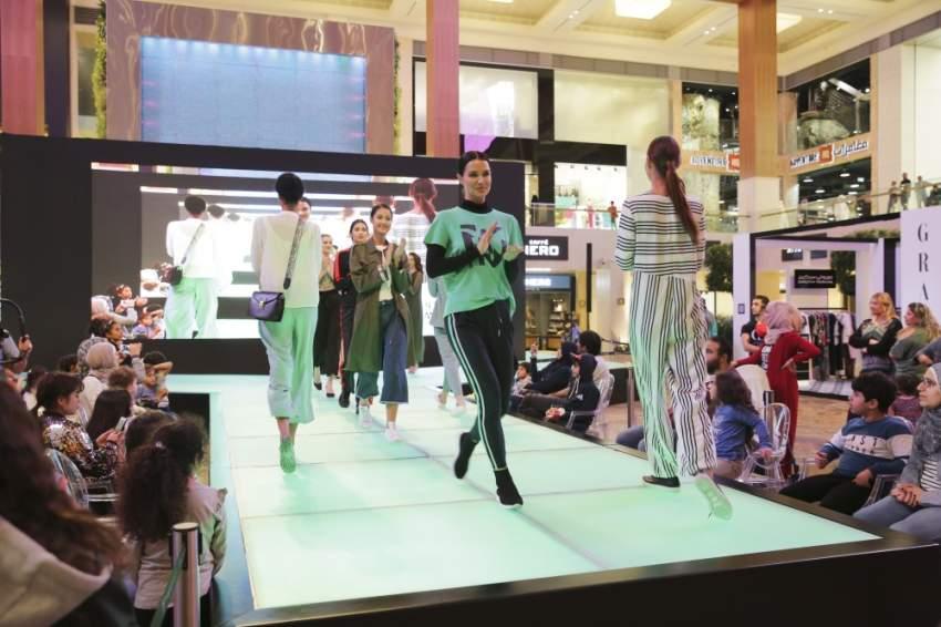 النسخة الثالثة من فعالية عروض الأزياء المحتشمة والجمال في ياس مول