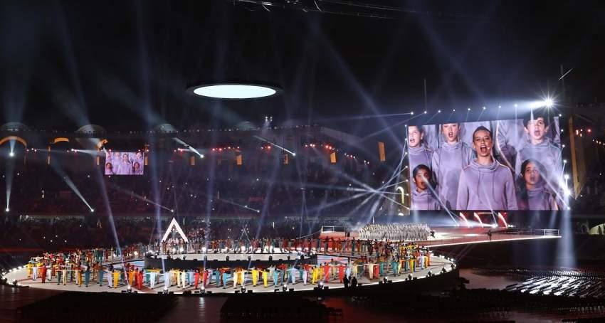 افتتاح الأولمبياد الخاص. (تصوير: محمد بدر الدين)