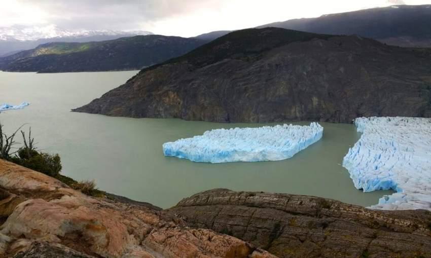 كتلة غراي الجليدية في باتاغونيا التشيلية