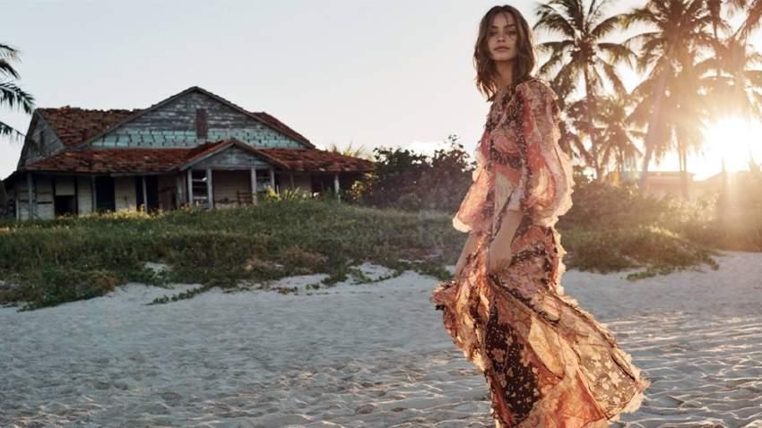 فستان بطابع بوهيمي من زميرمان