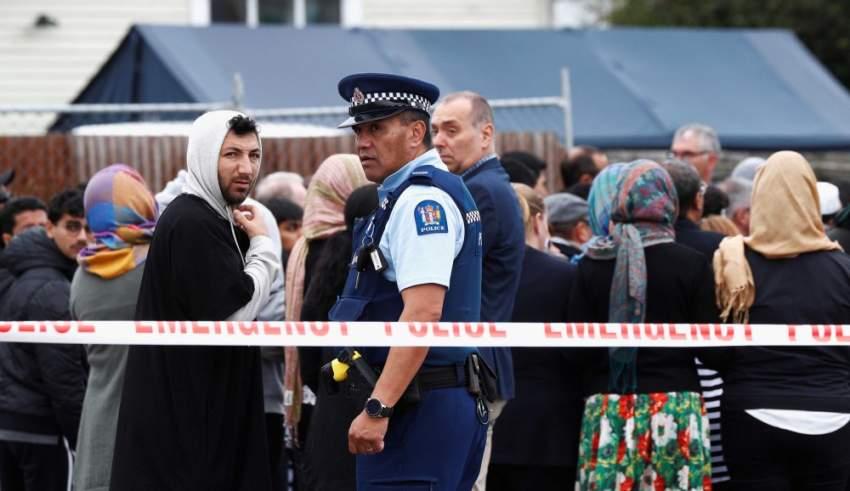 الهجوم على المسجدين في كرايستشيرش - نيوزلندا