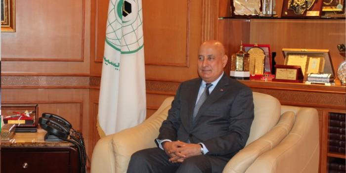 عبدالعزيز بن عثمان التويجري المدير العام للمنظمة الإسلامية للتربية والعلوم والثقافة (إيسيسكو)