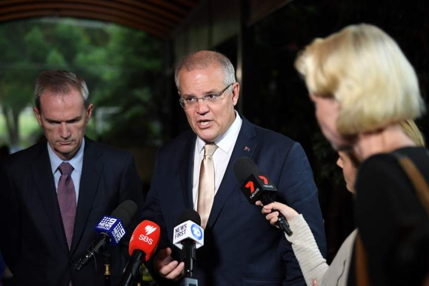 سكوت موريسون - رئيس الوزراء الأسترالي