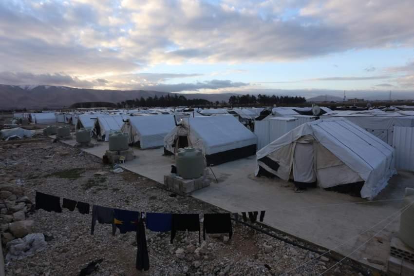 مخيمات اللاجئيين في لبنان