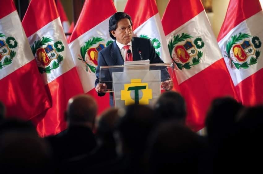 القبض على رئيس بيرو السابق مخموراً في كاليفورنيا