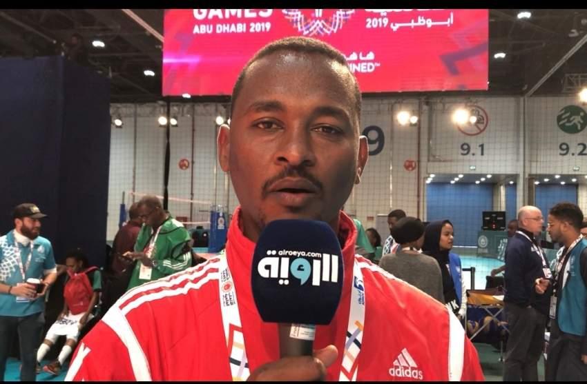 مدرب المنتخب السوداني ابوبكر السر