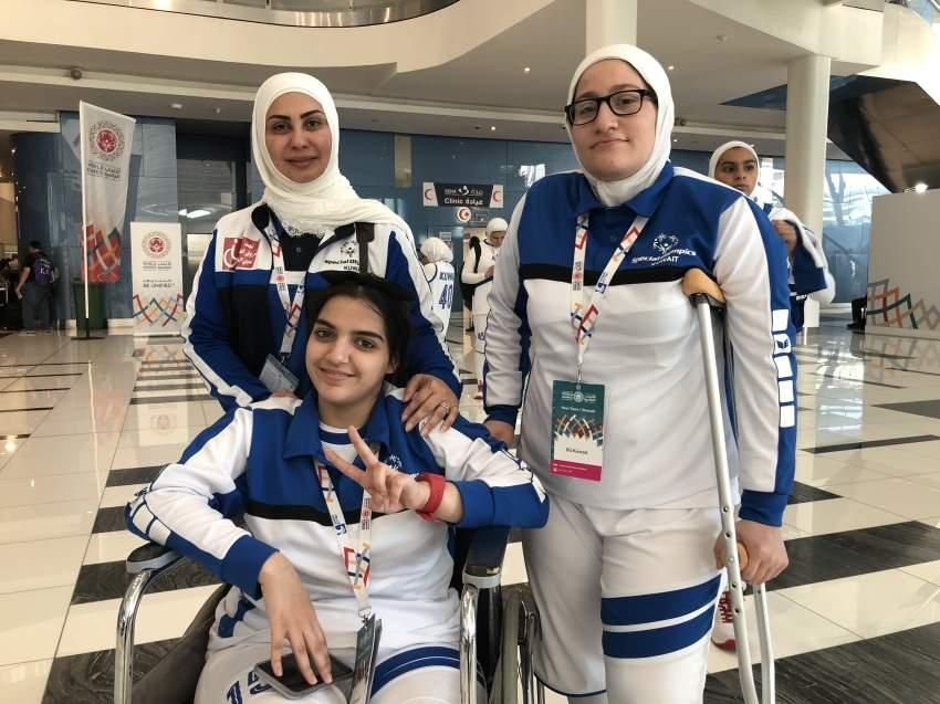 لاعبات منتخب الكويت