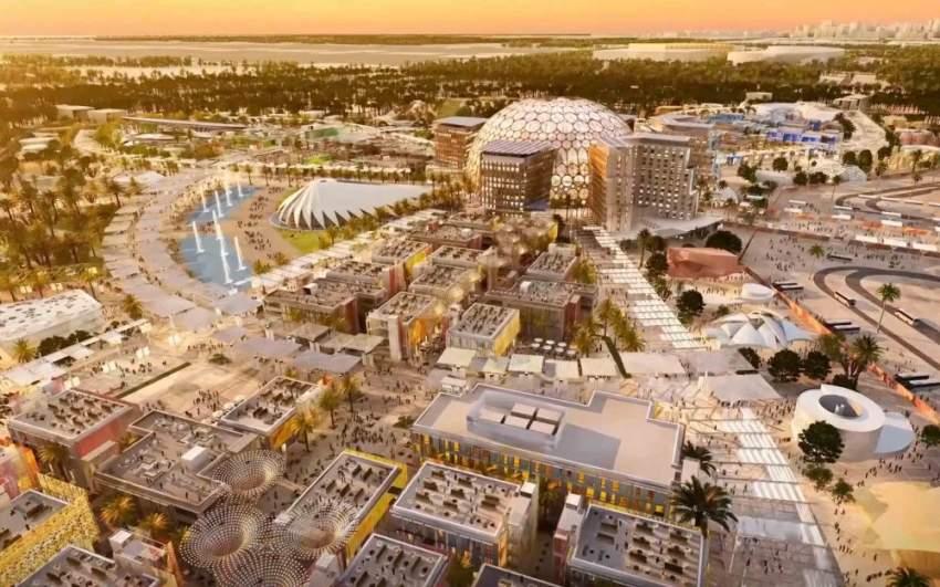 التحضيرات لمعرض إكسبو تتضمن إضافة العديد من المنشآت السياحية والفندقية. (الرؤية)