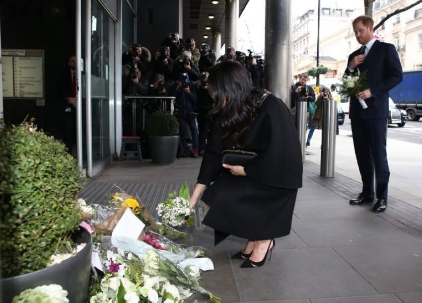 الأمير هاري وميغان يقدمان العزاء في ضحايا هجوم  نيوزيلندا
