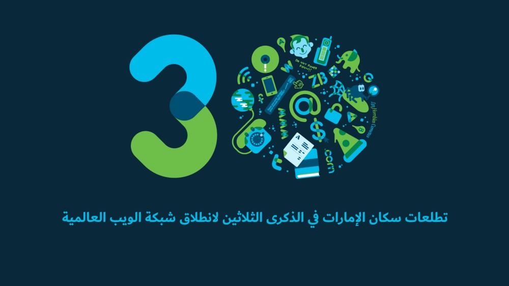 تطلعات سكان الإمارات في الذكرى الثلاثين لانطلاق شبكة الويب العالمية
