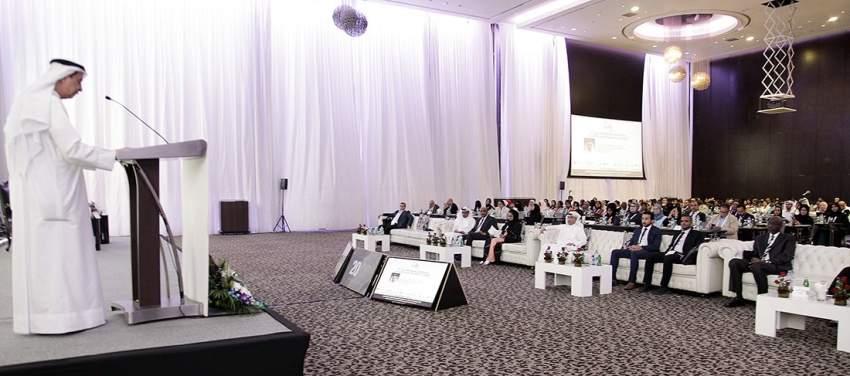 خلال فعاليات مؤتمر الإمارات لمكافحة مقاومة مضادات الميكروبات في دبي. (الرؤية)