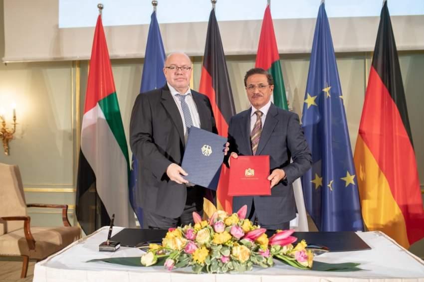 التعاون بين ألمانيا والإمارات