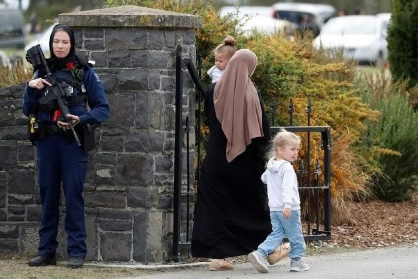 ميشيل إيفانز - ضابطة شرطة نيوزلندا