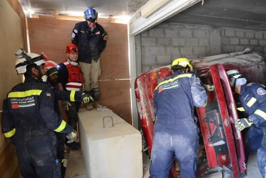 الأمم المتحدة تعيد تصنيف فريق الإمارات للبحث والإنقاذ في فئة الثقيل